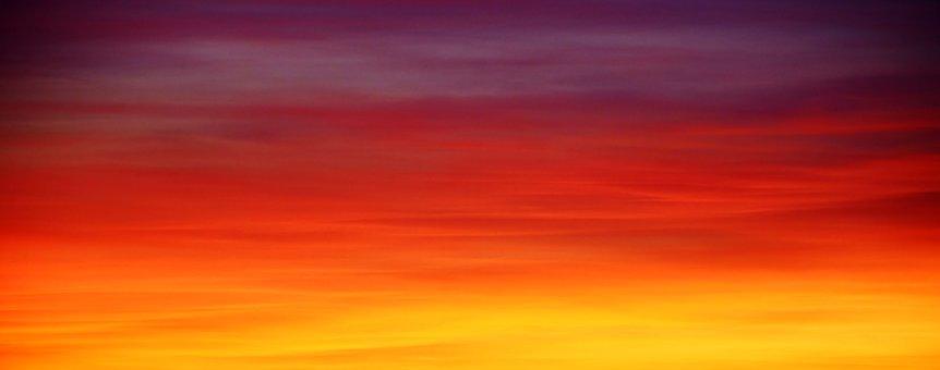 Il cielo attuale…